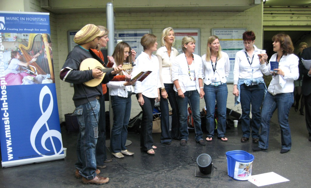 Music in Hospitals Treblemakers Busking